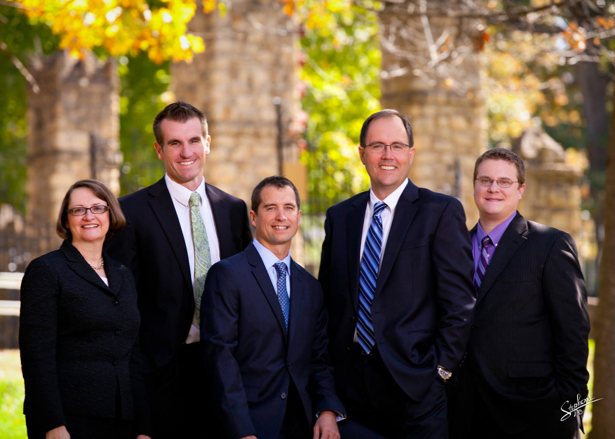 team photo of DHH personal injury attorneys