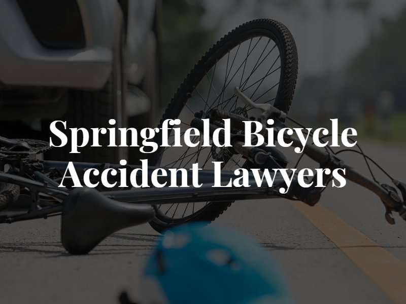 Springfield Bicycle Accident Lawyer
